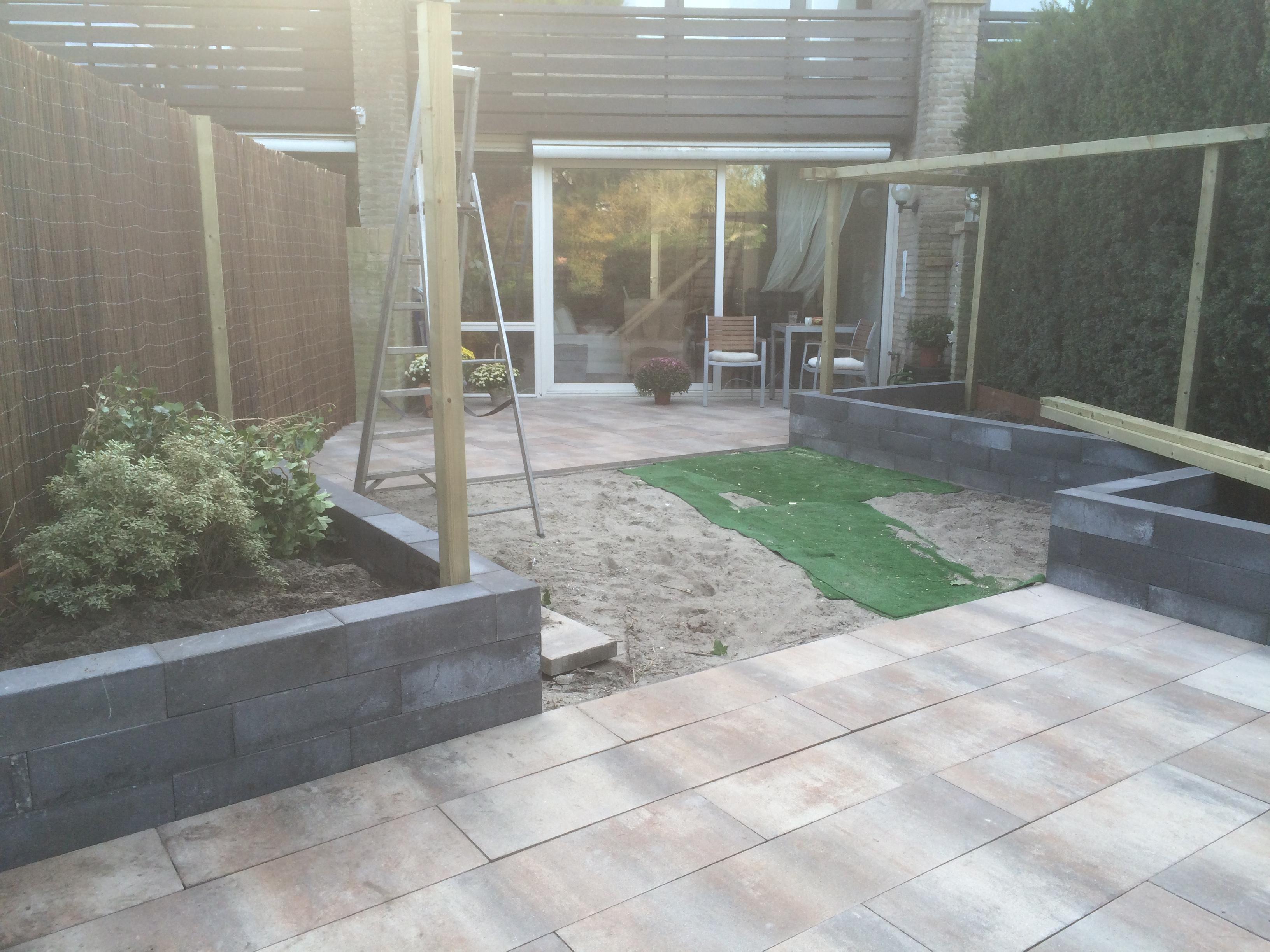 Diagonale tuin